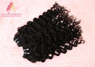 Good Quality Virgin Indian Hair & Grade 10A Virgin Human Hair Brazilian Italian Curly Bundles Wave on sale