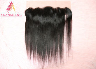 Good Quality Virgin Indian Hair & Straight Virgin Frontal Closure Hair , 13x4 Silk Lace Frontal Italian Human Hair on sale