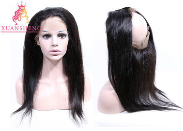 Good Quality Virgin Indian Hair & Virgin Hair 360 Lace Frontal, Virgin Hair Straight 360 Ear To Ear Frontal Hair on sale