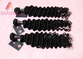 Good Quality Virgin Indian Hair & Curticle Aligned Virgin Indian Hair,  Full and Thick Indian Deep Wave Virgin Hair on sale