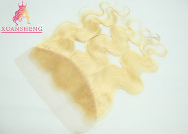 Good Quality Virgin Indian Hair & Virgin 613 Blonde Hair Weave Body Wave Frontal No Shedding And No Tangle on sale
