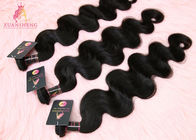 "Virgin Raw Black No Chemical Indian Hair Bundles 8"" - 34'' Length"