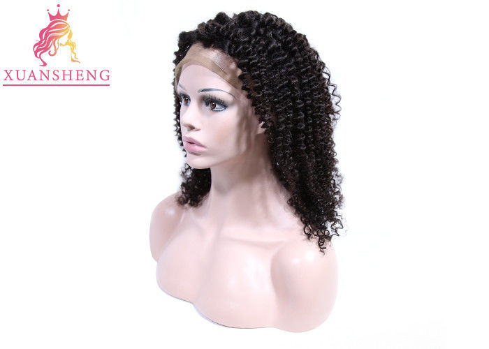 Free Style Human Lace Front Wigs With Baby Hair Silky Deep Curly Thick Ends
