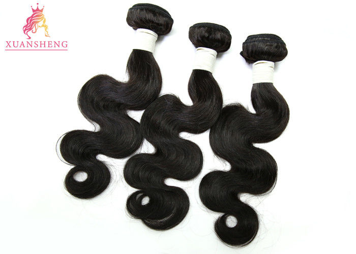 Natural Color Peruvian Body Wave Cuticle Aligned Hair Bundle Customized Length