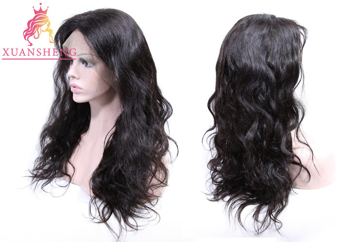 Transparent Human Lace Front Wigs