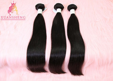 China Cuticle Aligned Raw Virgin Human Hair , 100% Brazilian Hair Straight Bundles factory