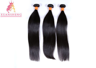 Straight Hair 3 Closure 100% Human Brazilian Bundles With Remy Hair