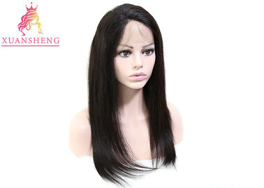 Brazilian Full Lace Human Wigs Unprocessed Hair Straight No Shedding And No Tangle