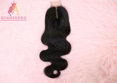 Cuticle Aligned Virgin Brazilian Body Wave Hair 2*6 Transparents Lace