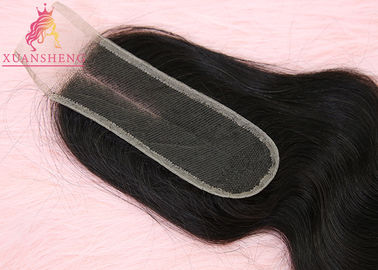 Retail Real Virgin Raw Unprocessed Hair Body Wave  2*6 Lace XS-BW Closure