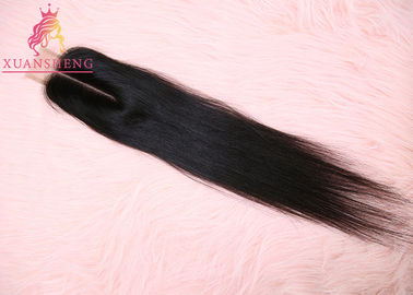 100% Virgin Brazilian Unprocessed Straight Hair 2*6 Lace 10A Grade