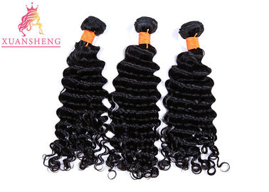 Large Stock  Brazilian Human Hair , Malaysia Curly Grade 10A Cuticle Aligned Hair