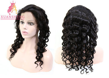 100% Transparents Full Lace Human Wigs Loose Wave Hair Cuticle Aligned