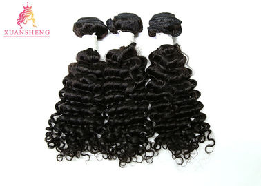 Double Drawn Deep Wave Peruvian Human Hair 150% Density No Smell