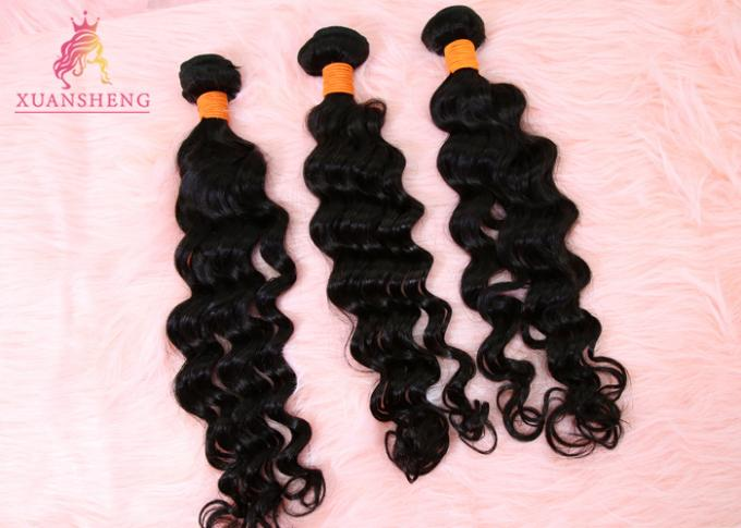 10A Grade XS Loose Wave Human Hair Curly Double Weft Curly Human Bundles